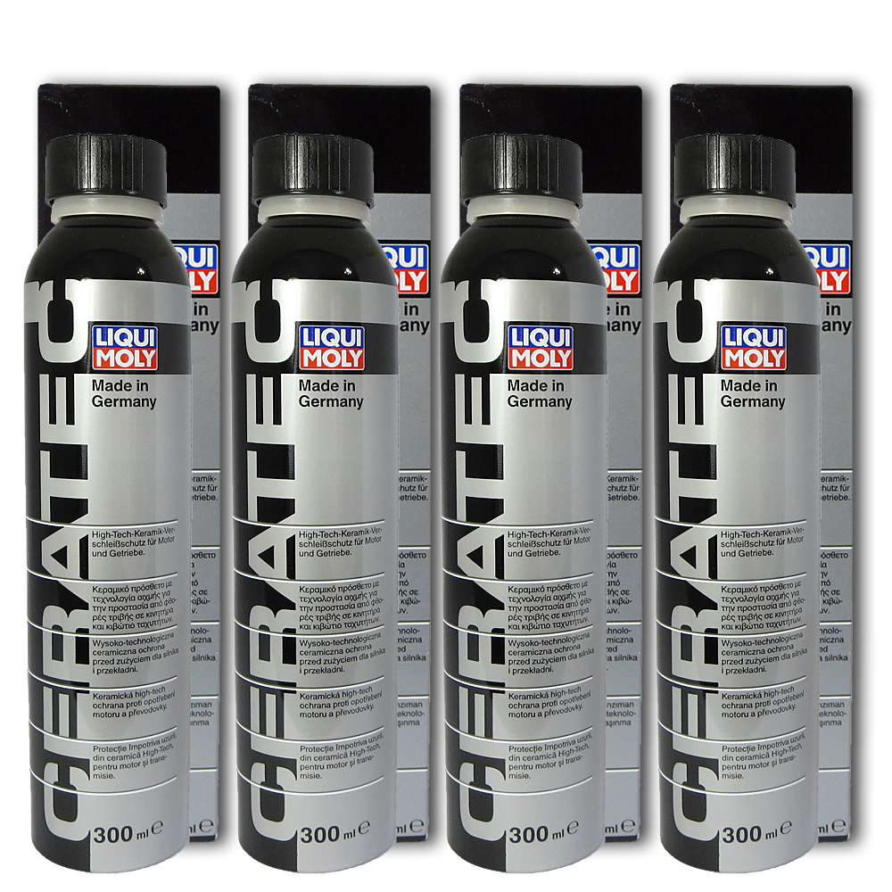 4x 300ml liqui moly 3721 ceratec keramik verschlei schutz l additiv ebay. Black Bedroom Furniture Sets. Home Design Ideas